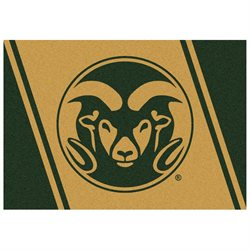 5'4 x 7'8 Rectangular Made-to-Order Machine Made American NCAA Colorado State Rams Collection Rug