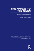 The Appeal To The Given