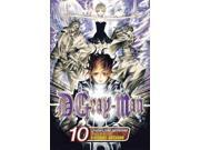 """D.Gray-Man 10 D.Gray-man Binding: Paperback Publisher: Viz Publish Date: 2008/08/05 Synopsis: Allen Walker, along with the other Exorcists--people possessed by God--must prevent the end of the world by fighting and defeating the Millennium Earl, demons, and evil using the special substance known as """"Innocence."""" Language: ENGLISH Pages: 197 Dimensions: 7.50 x 5.00 x 0.75 Weight: 0.42"""