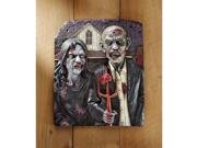 DESIGN TOSCANO CL6268 ZOMBIE GOTHIC WALL PLAQUE