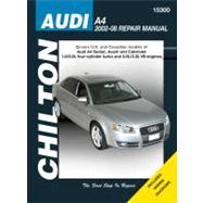 Chilton's Audi A4 2002-08 Repair Manual: Covers U.s. And Canadian Models Of Audi A4 Sedan, Avant And Cabriolet 1.8l/2.ol 4-cylinder Turbo And 3.2l/ 3.2l V6 Engi