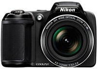 Nikon Coolpix L340 26484 20.2 Megapixels Compact Digital Camera - 28x Optical/4x Digital Zoom - 3-inch Lcd Display - 4.0-112 Mm Focal Length - Black