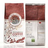 Farmers Blend Whole Bean Coffee 8.8 OZ - Organically Sourced, Single Origin, Fair Traded - Crafted by German Experts - Vietnamese Dark Roasted Robusta from Da Lat - Bulletproofed with Butter & Rum