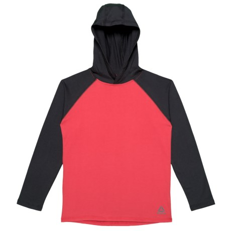 No Limits Red Hooded Shirt - Long Sleeve (for Big Boys)