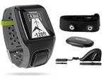 Tomtom Multi-sport Grey Bundle Gps Enabled Sports Watch