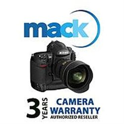 Mack 3 Year Extended Warranty (for Digital Cameras Camera Lens Kits with a retail value of up to $3000.00)