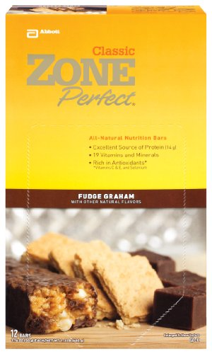 ZonePerfect All Natural Nutrition Bar, Fudge Graham, 1.76-Ounce Bars in 12-Count Boxes (Pack of 2)