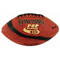 Spalding Pop Warner Junior Leather Football