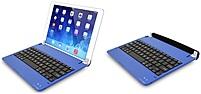 Digital Gadgets Dgipa234abk-bl Ultra Thin Bluetooth Keyboard For Ipad 2/3/4 Generation - Blue