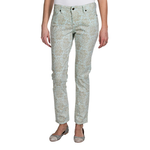 Christopher Blue Isabel Descanso Floral Pants - Ankle Cut, Skinny (For Women)