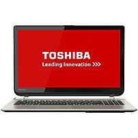 "Toshiba Satellite S55t-b5233 15.6"" Touchscreen Lcd Notebook - Intel Core I7 I7-4710hq Quad-core (4 Core) 2.50 Ghz - 16 Gb Ddr3l Sdram - 1 Tb Hdd - Windows 8.1 64-bit - 1920 X 1080 - Trubrite - Brushed Aluminum In Satin Gold - Intel Hd Graphics 4600 Ddr3l Psprdu-00c003"
