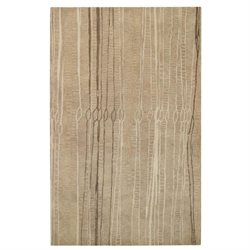 8' x 10' Rectangular Hand Tufted Indian Fingerling Collection Rug