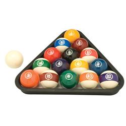 Belgian Phenolic Balls Set (SET)
