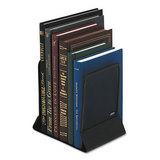 Mesh Bookends, Steel, 5 1/4 x 6 1/4 x 5, Steel, Black
