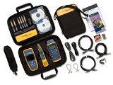 Fluke Networks CIQ-GSV2 CableIQ Network Cable Tester.  Service Kit with Tone Generator and Network Tester