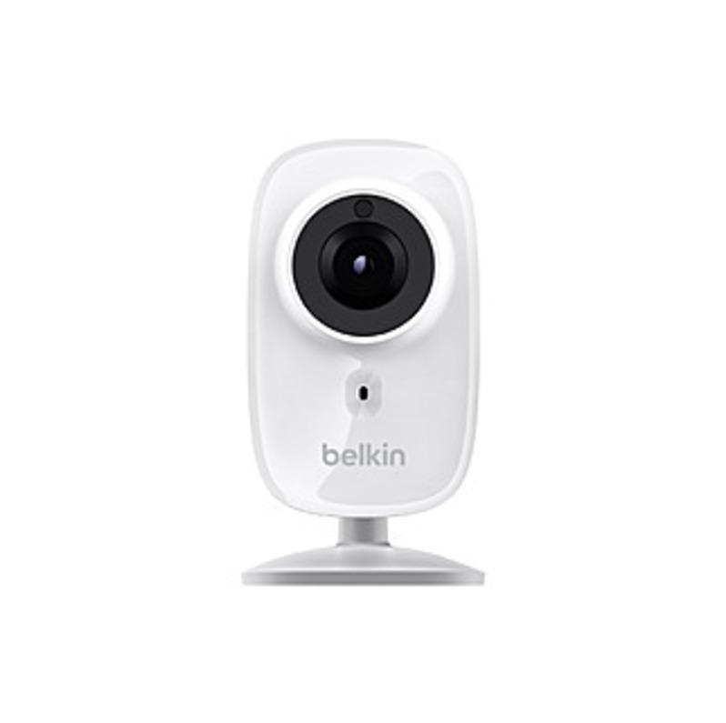 Belkin Netcam Hd  2 Megapixel Network Camera - Color - 1280 X 720 - Cmos - Wireless - Wi-fi - Hdmi