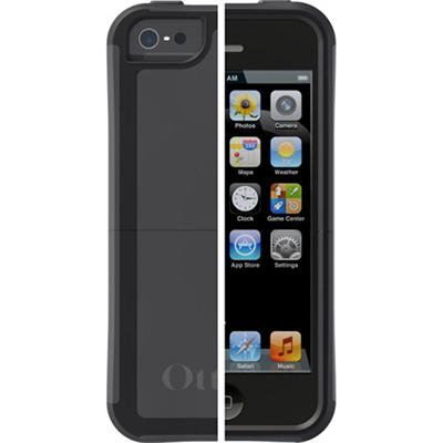 Otterbox 77-22683 Reflex Apple Iphone 5 - Case For Cell Phone - Polycarbonate  Rubber - Black  Slate Gray - For Apple Iphone 5