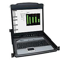 Tripp Lite Netdirector B020-u08-19-k 1u Rackmount Console 19-inch Lcd With Kvm Switch - 8 Port - 1280 X 1024 - 75 Hz - Black