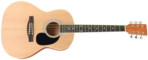 Spectrum Ail-36k 36-inch Student Size Acoustic Guitar - Natural - Matte Finish