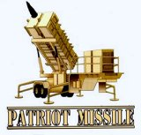 Patriot Missile Launcher Decal Sticker