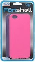 Fon Shell 811435018122 Hardshell Case For Iphone 5/5s - 2 Pack - Pink, Purple