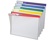 Pendaflex Clear Poly Index Folders