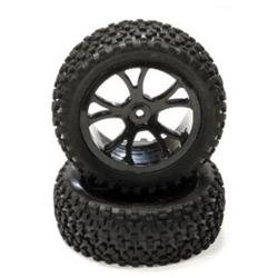 INTEGY INC. INTEGY C24163BLACK Pre-Mount 1/10 Buggy 10-Spoke Fr 31mm All T INTC2036