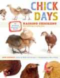 Jenna Woginrich chronicles the life journey of three chickens (Amelia, Honey, and Tilda) from fluffy, newly hatched bundles to grown hens laying eggs of their own