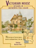 """Exquisitely detailed, exceptionally handsome designs for an enormous variety of attractive city dwellings, spacious suburban and country homes, charming """"cottages"""" and other structures — all accompanied by perspective views and floor plans with measurements"""