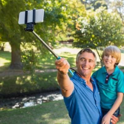 Worry Free Gadgets Monopod-blue Monopad Selfie Stick - Blue