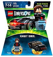 Lego 883929529742 Dimensions Gaming Figure - Knight Rider Fun Pack