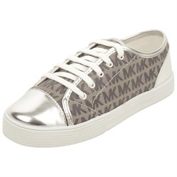 MICHAEL Michael Kors Toddler/Youth Mmk Sneaker in Silver T13 W US
