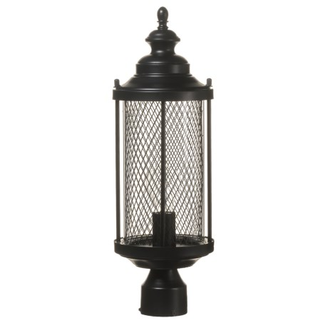 Stewart Medium Mesh Postmount Outdoor Lantern - 20?
