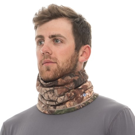 Force(r) Jennings Camo Fleece Neck Gaiter (for Men)