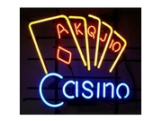 Neonetics Casino Neon Sign