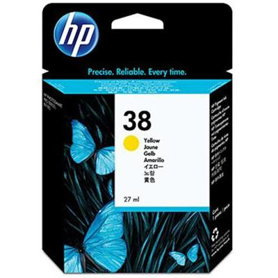 Hp Inc. C9417a 38 - 27 Ml - Yellow - Original - Ink Cartridge - For Photosmart Pro B8850  Pro B9180  Pro B9180gp