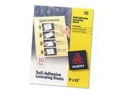 Self Adhesive Laminating Sheets, 9