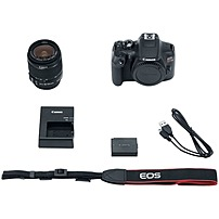 "Canon Eos Rebel T6 18 Megapixel Digital Slr Camera With Lens - 18 Mm - 55 Mm - 3"" Lcd - 16:9 - 3.1x Optical Zoom - Ttl - 5184 X 3456 Image - 1920 X 1080 Video - Hdmi - Pictbridge - Hd Movie Mode - Wireless Lan 1159c003"