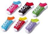 K. Bell Sport Women's Sneaker Low Cut No Show Socks 6-pack, Multi, One Size