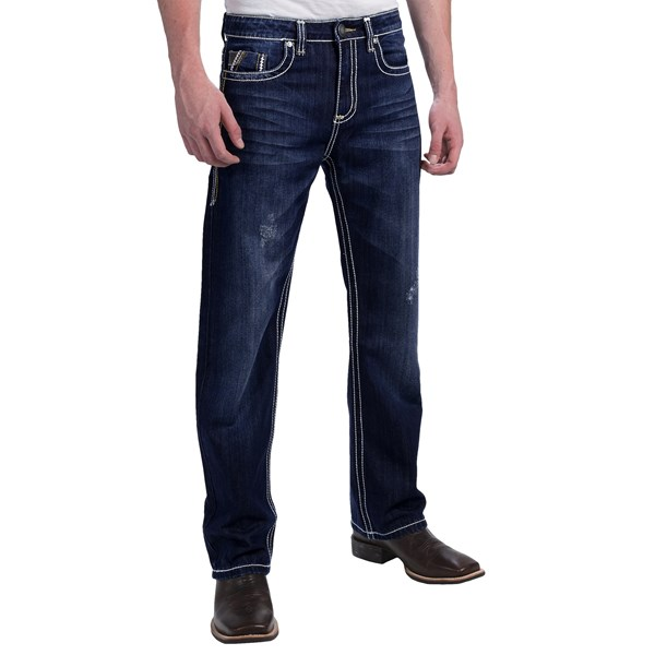 Petrol Ray Jeans - Regular Fit, Bootcut (for Men)