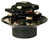 HoMedics WFL-ROCK EnviraScape Illuminated Rock Garden Relaxation Fountain