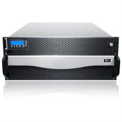 Sans Digital AccuRAID AR424IT SAN Array - Serial ATA/300, 3Gb/s SAS Controller - 24 x Total Bays - 10 Gigabit Ethernet - iSCSI - 4U Rack-mountable