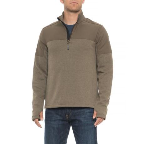 Los Padres Fleece Pullover Shirt - Zip Neck, Long Sleeve (for Men)
