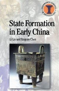 State Formation In Early China