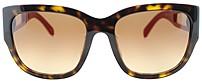 Fendi Fs5307a-215 Womens Designer Sunglasses - Tortoise - Amber Gradient Lens