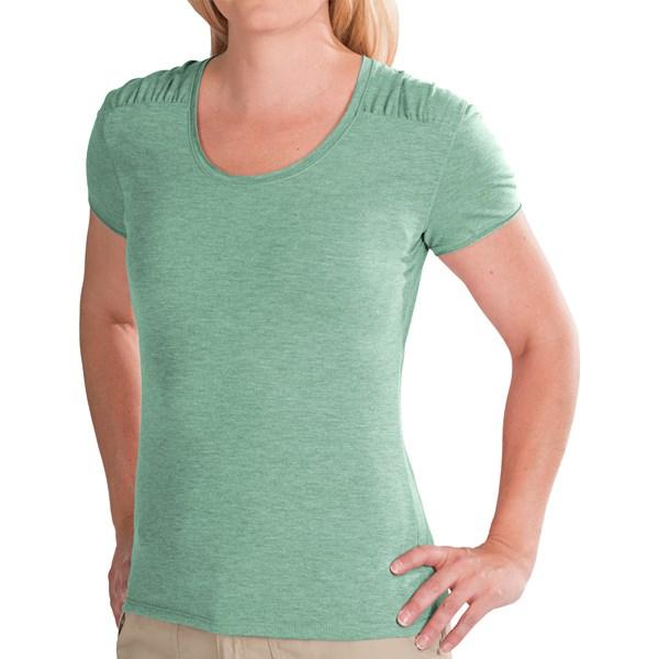 White Sierra Tahoe Flex T-shirt - Short Sleeve (for Women)