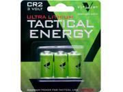 Viridian Cr2 Ultra Lithium Tactical Batteries 3-pack Vir-cr2-3