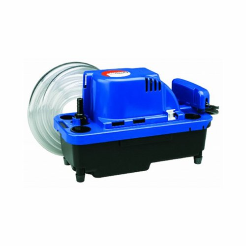 Little Giant VCMX-20ULST 554550 VCMX Series Automatic Condensate Removal Pump with Safety Switch, 1/30 horsepower, 115-Volts