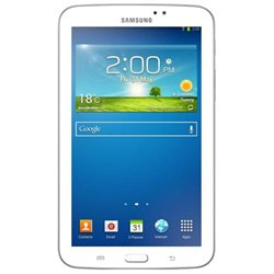 Samsung Galaxy Tab 3 SM-T210 8 GB Tablet - Refurbished - 7 - Plane to Line (PLS) Switching - Wireless LAN - Marvell ARMADA PXA986 1.20 GHz - White - 1 GB RAM - Android 4.1.2 Jelly Bean - Slate - 1024 x 600 - Bluetooth