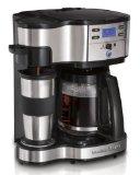 Hamilton Beach 49980Z Single Serve Coffee 2-Way Brewer and Full Pot Coffee Maker